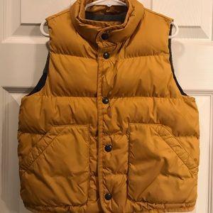 Gap Puffer Vest Mustard size 4t boys